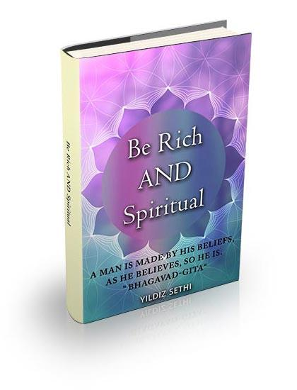 be rich and spiritual book cover