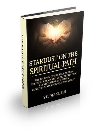 Stardust on the spiritual path book cover
